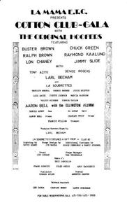 """Program: """"Cotton Club Gala"""" (1975a)"""