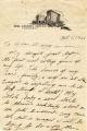 """Jack Trice """"Last Letter,"""" October 5, 1923"""