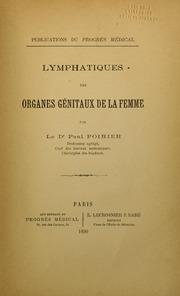 Lymphatiques des organes génitaux de la femme
