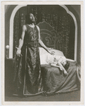 "Paul Robeson as Othello, and Uta Hagen as Desdemona, in a scene from the Theatre Guild presentation of ""Othello"""