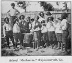 """School """"Orchestra,"""" Napoleonvillie, La"""