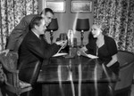 Mary Pickford and Buddy Rogers with Malcolm Boyd