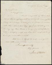 Letter to] My dear friend, W. Lloyd Garrison [manuscript