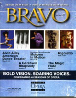 [Program] Bravo: Michigan Opera Theatre, Spring 2011