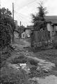 Pathway between houses.