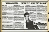 Les Blancs insert from The New York Times, December 6, 1970.