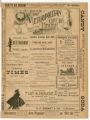 """The Black Art or An American Millionairess"" theater program, Metropolitan Opera House, Minneapolis, Minnesota"