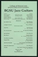 BGSU Jazz Guitars