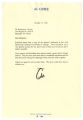 Letter from Al Gore to Benjamin L. Hooks