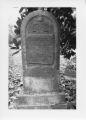 Alexandria Cemeteries Historic District: Baird tombstone