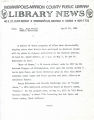 Indianapolis-Marion County Public Library LIBRARY NEWS April 19, 1982