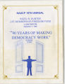 South Bend N.A.A.C.P. Life Membership/Freedom Fund Luncehon program, 1999