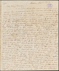 Letter from Edmund Quincy, Dedham, [Massachusetts], to William Lloyd Garrison, 1843 July 9