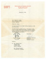 Letter from Robert B. Patterson, secretary of the Association of Citizens' Councils in Greenwood, Mississippi, to Walter H. Craig in Selma, Alabama.