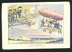 """For the sunny South. An airship with a """"Jim Crow"""" trailer"""
