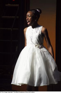 Young Girl Performing on Stage Hip Hop Broadway: The Musical