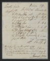 Session of November-December 1789: Joint Standing Committees: Committee of Claims
