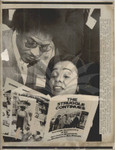 Coretta Scott King with Bernard Lee