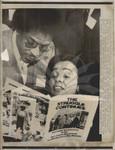 Coretta Scott King with Bernard Lee