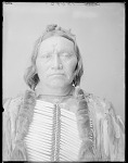 Chief Black Coyote (front bust) 1904