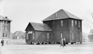Old farm building. Shorter College