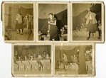 """[Performance pictures of various members of the """"Sweethearts"""", undated.] [Black-and-white photoprints.]"""