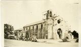 St. Odilia Church under construction, Los Angeles, California, 1926