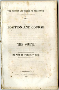The position and course of the South.