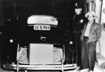 Ray Bartlett with burglary suspect