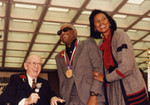Kenneth Hahn, Ray Charles, and Yvonne Brathwaite Burke