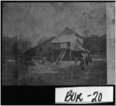 Stereograph of African-Americans shucking corn, Greens Cut, Burke County, Georgia, ca. 1878