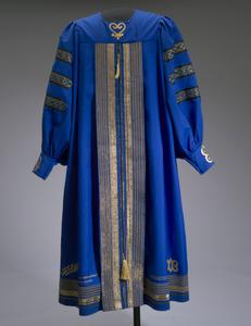 Academic robe worn by Dr. Johnnetta B. Cole at Bennett College