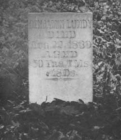 Benjamin Lundy's gravestone