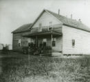First school at St. Mary's Mission, Red Lake, Minnesota