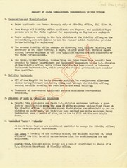 Summary of State Unemployment Compensation Office Problem, May 8, 1946