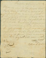 Bill of sale for a slave bought by David Cobb from Curtis Hooks.