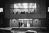 Samuel H. Archer Hall at Morehouse College, probably either the night before or the night of Martin Luther King, Jr.'s funeral.