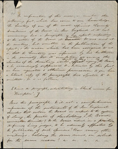 Letter from Samuel Wolcott, Longmeadow, [Massachusetts], to Amos Augustus Phelps, 1846 March 31
