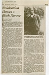 "Thumbnail for ""Smithsonian Honors a Black Pioneer"" News Clipping"