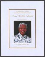 State memorial service for the late former president Nelson Rolihlahla Mandela, date: 10 December 2013, 18 July 1918-5 December 2013, Bishop Ivan Abrahams