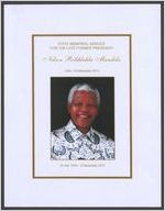 Thumbnail for State memorial service for the late former president Nelson Rolihlahla Mandela, date: 10 December 2013, 18 July 1918-5 December 2013, Bishop Ivan Abrahams