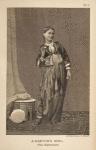 A dancing girl. (The Gahwazee)