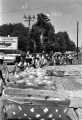Marchers passing a produce stand near Senatobia, Mississippi, during the March Against Fear begun by James Meredith.