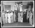 Group of African-Americans at organization meeting, circa 1931/1940, Los Angeles