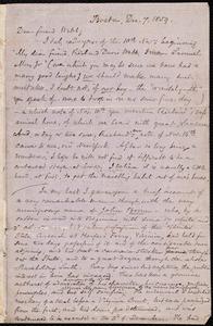 Letter from Samuel May, Boston, to Richard Davis Webb, Dec. 7, 1859