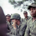 Soldier, probably Timothy Shelton of Ohio, at the U.S. Army training facility at Fort McClellan near Anniston, Alabama.