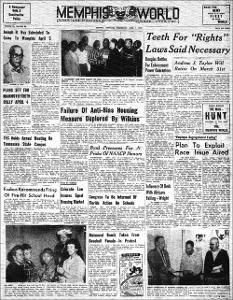 Memphis World, 1959 April 1st