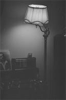 Lighting study of a lamp, Michelangelo Apartments