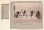 Charity, Hospitals: United States. New York. Ogdensburg. City Hospital and Orphanage: Grey Nuns of the Cross: City Hospital and Orphanage, Ogdensburg, N.Y. (Under the direction of the Grey Nuns of the Cross): City Hospital. Training class of Mary Immaculate 1903.