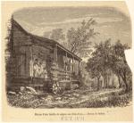 Maison d'une famille de nègres aux États-Unis